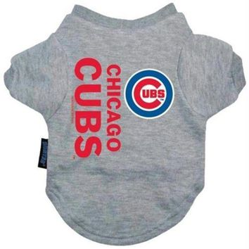 ONETOW Chicago Cubs Dog Tee Shirt