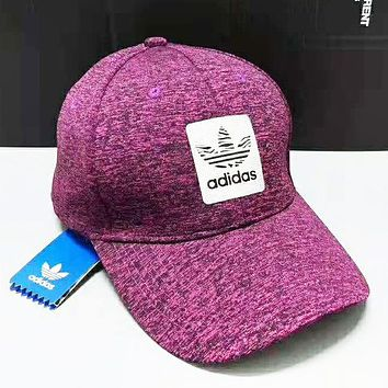 Adidas Fashion New Texture Women Men Sunscreen Travel Leisure Cap Hat