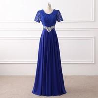 Long Mother of the Bride Dress Formal