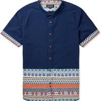 Navy Heath Shirt