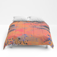 Disarm you with a smile Comforters by DuckyB