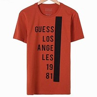 Guess Women Men Fashion Short Sleeve Shirt Top Tee