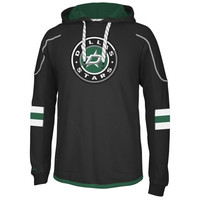Reebok Dallas Stars Faceoff Edge Team Jersey Pullover Hoodie - Black