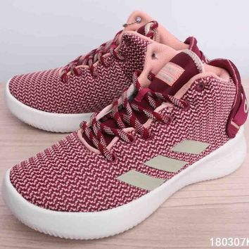 Adidas Neo Men & Women CF REFRESH MID W Casual Shoes F-CSXY pink