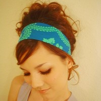 BLUE MINT GREEN Tea Party Mint Mixbaby dress Headband by mixbaby