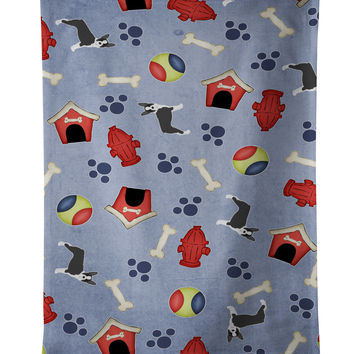 Dog House Collection Boston Terrier Kitchen Towel BB4053KTWL
