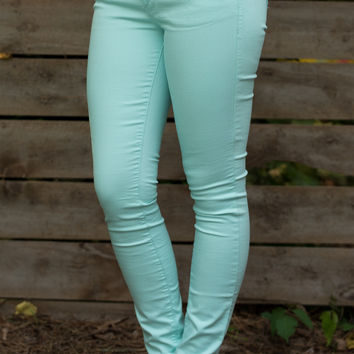 The Maggie Skinny - Mint