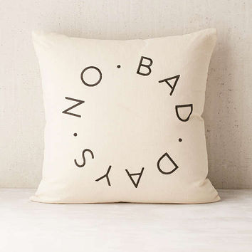 Assembly Home No Bad Days Pillow | Urban Outfitters