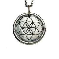 Flower of Life Traveller's Coin Necklace – House of Alaia