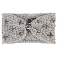 Cross Embellished Headband - New In
