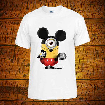 Minion Mickey - Minion Mickey t shirt Youth - Minion Mickey shirt funny - Tshirt Youth Kids - tshirt Adult Unisex - tshirt birthday