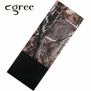C.gree Multifunctional Magic Bandanas Wicking Warm Fleece Winter Thermal Windproof Outdoor Sports Cycling Mask Scarf Reversible