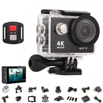 Original H9 / H9R Action Camera 4K Wifi Ultra HD 1080p 60fps 170D Go Waterproof Mini Cam Pro Sports Camera