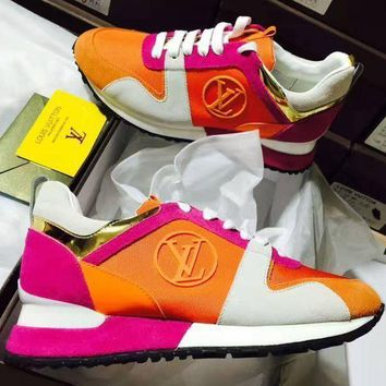 LV Louis Vuitton Fashion Women Leisure Sport Running Shoes I