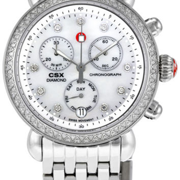 Michele CSX Mother of Pearl Diamond Ladies Watch MWW03M000114
