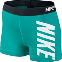 Nike Women's Pro Core Logo Compression Shorts