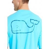 Vineyard Vines Men's Neon Whale Pocket T-Shirt