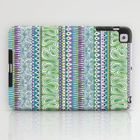 Tribal Spring iPad Case by Janet Broxon