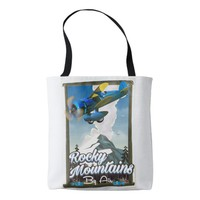 Rocky Mountains by Air! Tote Bag