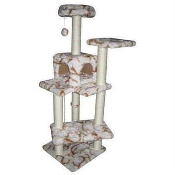 "New BestPet 60"" Fashion Cat Tree Condo Furniture Scratch Post Pet House"