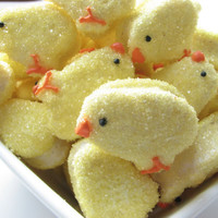 Marshmallow Mini Sticky Chickies PEEP PEEP