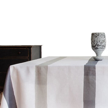 Cinta Table Linens | Grey by Huddleson