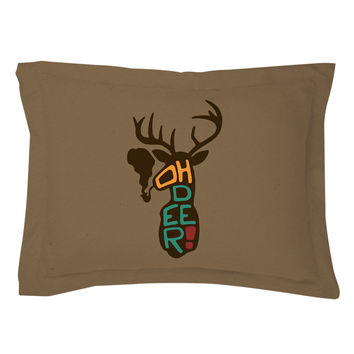 Oh Deer Pillow Shams