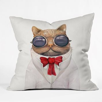 Animal Crew Astro Cat Throw Pillow