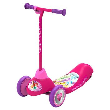 Pulse Disney Princess Safe Start Electric 3 Wheel Scooter - Pink/ Purple
