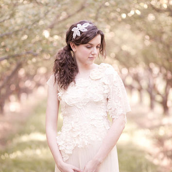 Custom Made Whimsical Wedding Dress, Party Dress