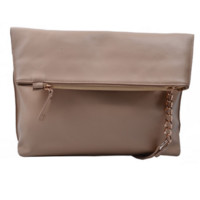 Oversized Crossbody Bag (Black or Beige)