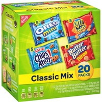 Nabisco Classic Mix Cookie Variety Pack, 1 oz, 20 count - Walmart.com