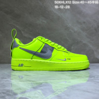 HCXX N965 Nike Air Force 1 TM Low Classic Skate Shoes Fluorescent Grreen