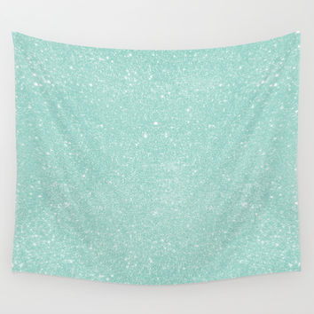 Pastel Glitter 02 Wall Tapestry by Aloke Design