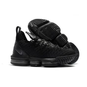 Nike Lebron 16 Black Sneakers