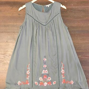 Best You Can Embroidered Dress