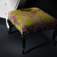 Upholstered pouf ambiance 138 by Casali