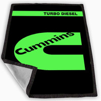 cummins turbo diesel Blanket for Kids Blanket, Fleece Blanket Cute and Awesome Blanket for your bedding, Blanket fleece *