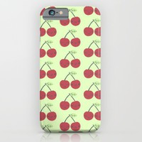 berry cherry; iPhone & iPod Case by Pink Berry Patterns