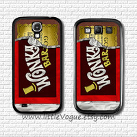 Wonka Chocolate design phone case phone cover, Samsung Galaxy S2 case, Galaxy s3 case, Galaxy s4 case, case for galaxy s2, s3, s4