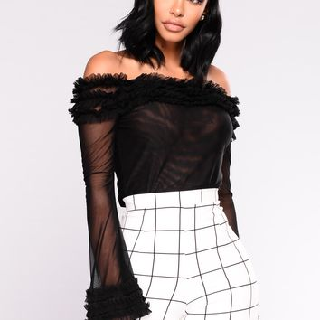 Mishka Mesh Top - Black