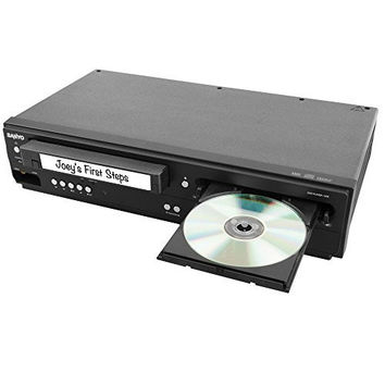 Sanyo DVD/VCR Player With Line-In Recording