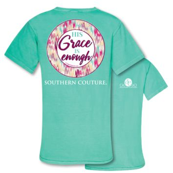 Southern Couture Grace is Enough Comfort Colors T-Shirt