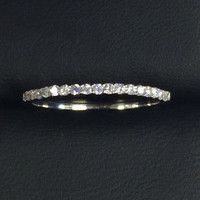 Diamond Half Eternity Wedding Band (SALE)