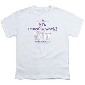 Gilmore Girls - Al's Pancake World Short Sleeve Youth 18/1