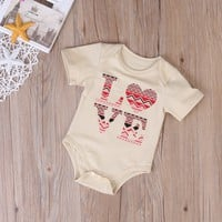 "Baby Girls ""Love"" Onesuit"