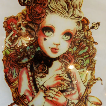 Waterproof Baby Doll Temporary Tattoo