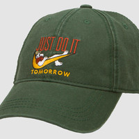 Just Do It Tomorrow Baseball Cap - BigDogs.com