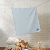 Powder blue Baby Blanket