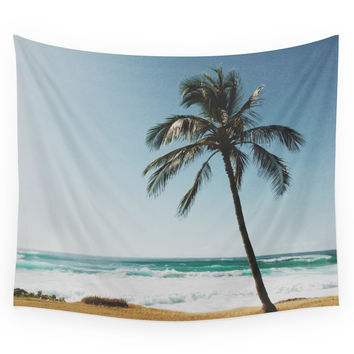 Society6 By The Beach Wall Tapestry